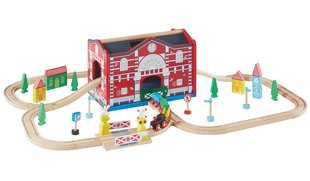 George Home Wooden Lights and Sound Train Set