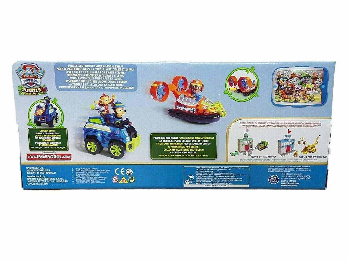 Paw Patrol jungle rescues explorer 2 pack