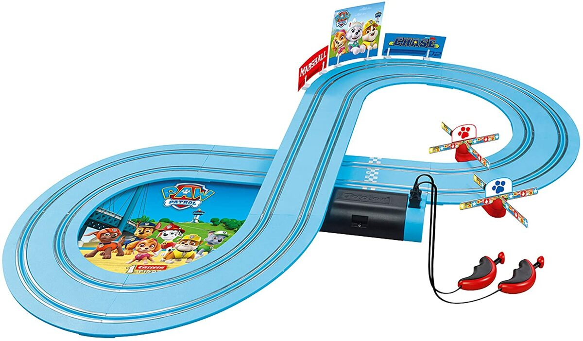 Racetrack First Paw Patrol On them Truck battery powered 2,4