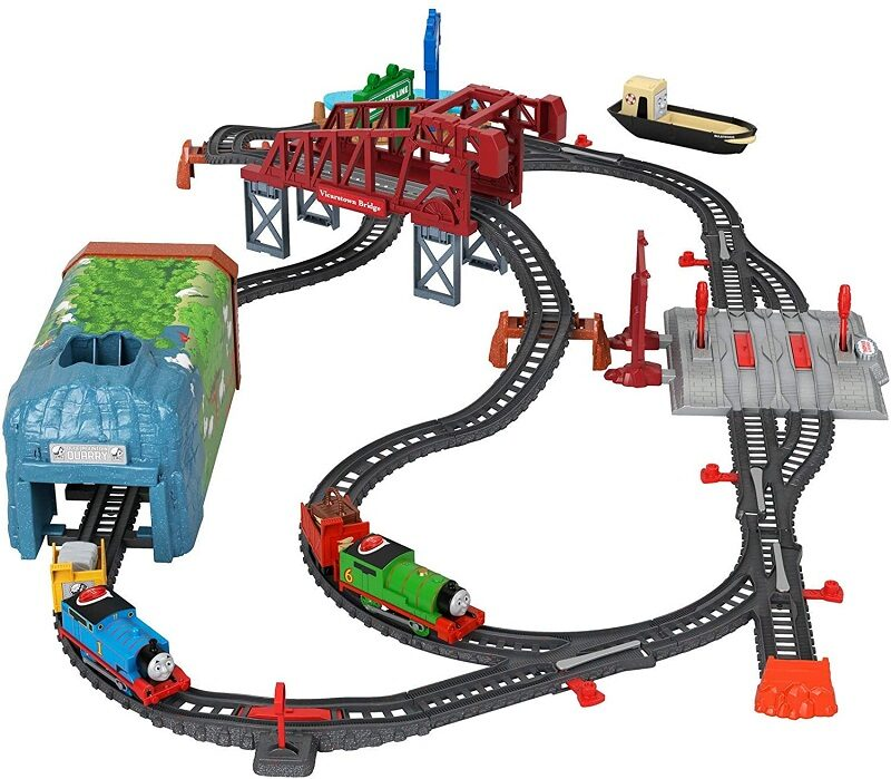 Fisher-Price Thomas & Friends Talking Thomas & Percy Train Set