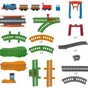Thomas & Friends 3-in-1 Package Pickup Train Tracks