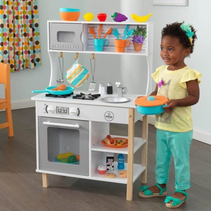 Koka bernu virtuve KidKraft  All Time Wooden Play Kitchen