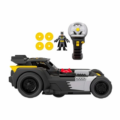 Imaginext DC Transforming Remote Control Batmobile