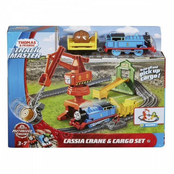 Fisher Price Thomas & Friends Track Master Cassia Crane & Cargo Set GHK83